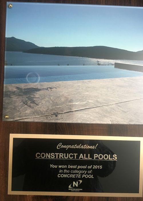 NorthEastern 2015 Best Pool (Concrete Pool)